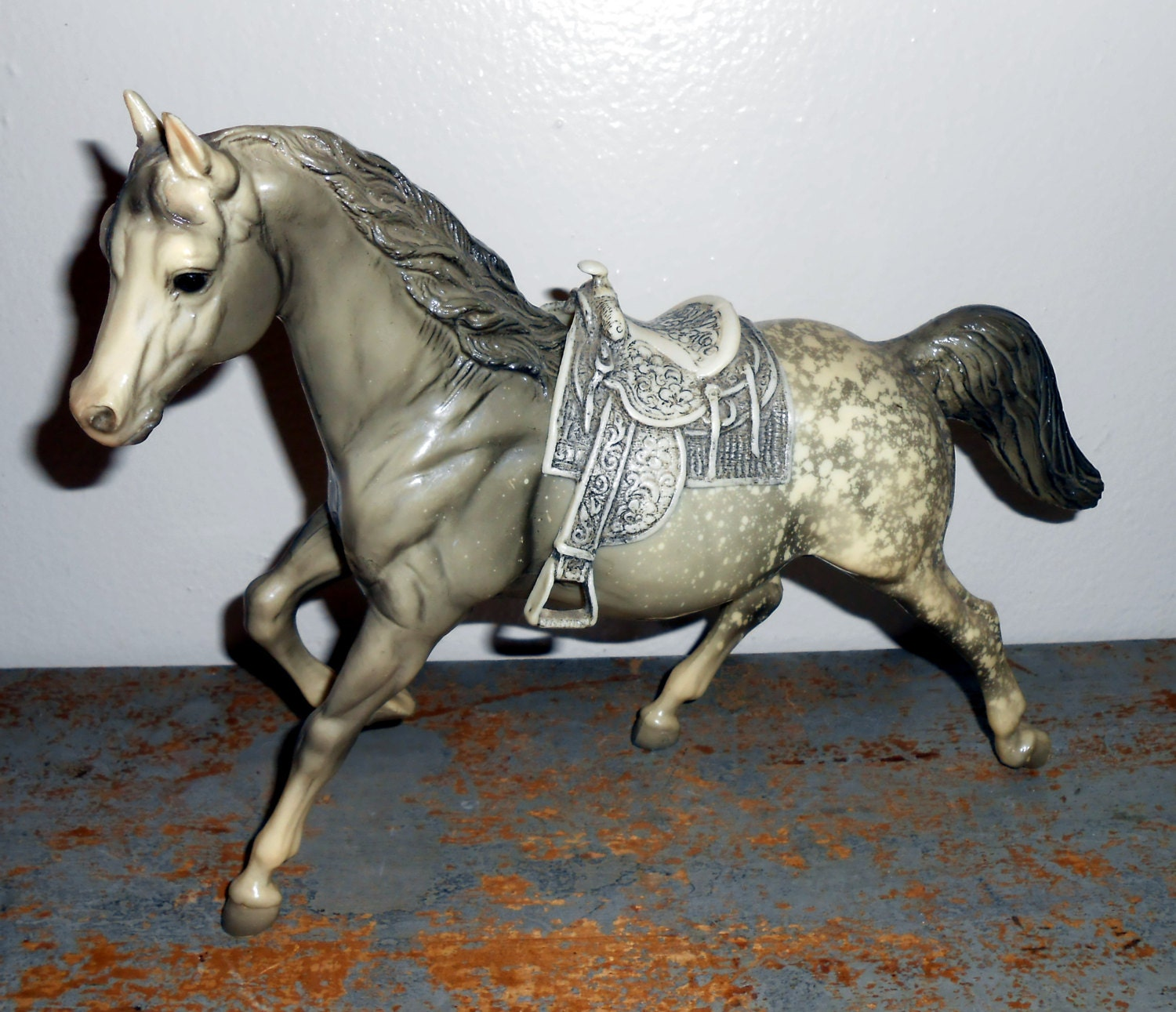 Best Breyer Horses And Horse Toys : Vintage toy breyer horse model appaloosa grey