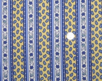 1 yard of Country French Provence style print fabric