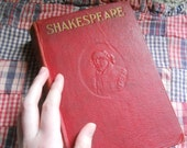 Complete Works of William Shakespeare-with notes, 1964 vintage book