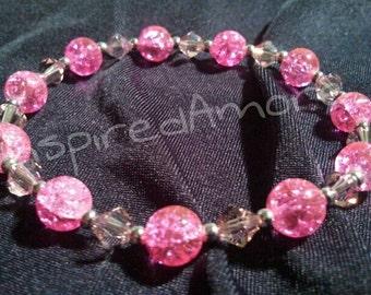 Pink Crackle Sparkles