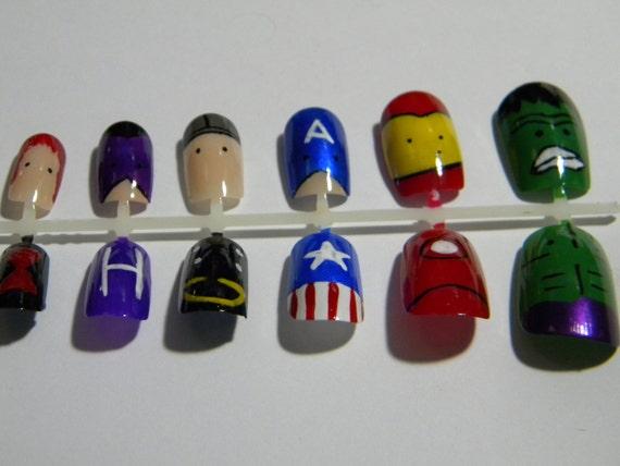 Avengers Press On Nails
