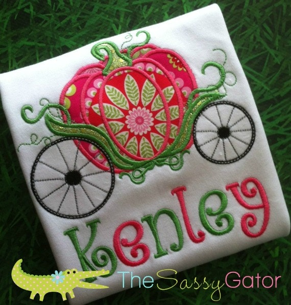 Items Similar To Princess Pumpkin Carriage Personalized