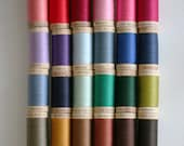 BULK BUY 5 Spools GOTS Certified Organic Cotton Sewing Thread (300 yards/275 metres) 34 colours