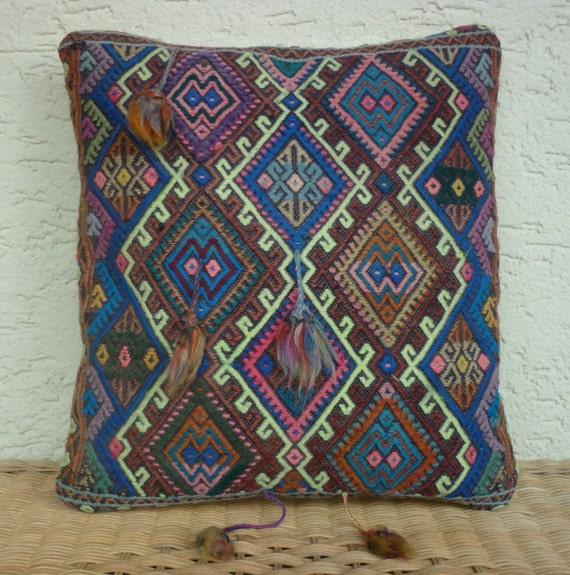 Items Similar To MODERN Bohemian Home Decor Embroiderd