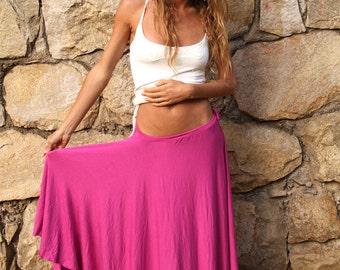 MAXI LONG SKIRT, Circle Skirt, Full Long Skirt, Versatile Dress Skirt, Women, Boho Dance Skirt