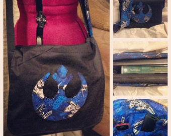 Custom Geeky Star Wars Messenger bag