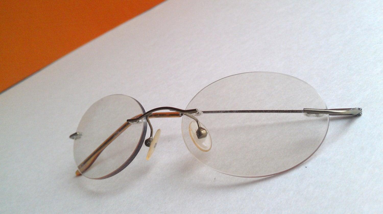Vintage Rimless Eyeglasses 1950s