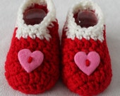 Infant and Toddler Valentines Day Feet