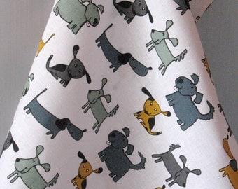 Kitchen Towels Linen Cotton Dish Towels Tea Towels Dog - Tea Towels set of 2