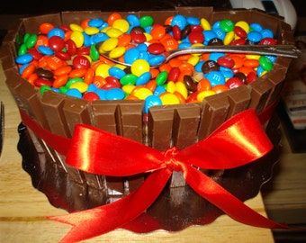 Kitkat M&M Buttercream Cake