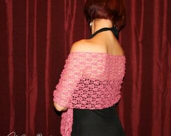 Bridesmaid Shawls / Wedding Shawl / Bridesmaid Wraps / Vintage Inspired Crocheted Shawl / Bridal Wrap / Gift for Her