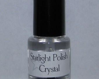Crystal Top Coat Clear Quick Drying Custom Nail Polish 5mL