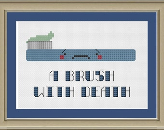 A brush with death: cute toothbrush cross-stitch pattern