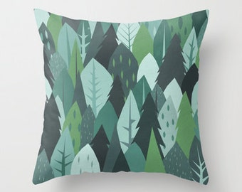 Into the Woods - Throw Pillow