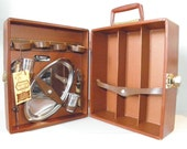 PRICE REDUCED Pour Me Another vintage travel bar