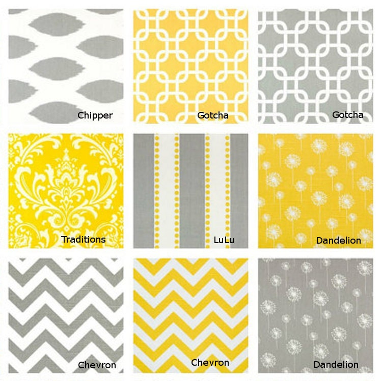 Yellow or gray table runner pick your favorite decorative for Table runners 52 inches