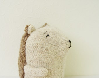 Dobrynia Hedgehog plush toy, soft toy hedgehog, stuffed toys, upcycled