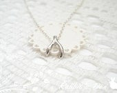 NEW: 'Got a Wish Bone to Pick' Sterling Silver Necklace