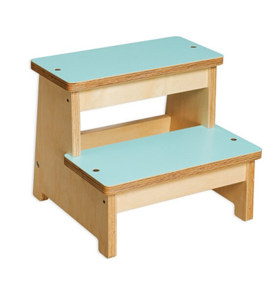 Items similar to wood step stool kids toddler