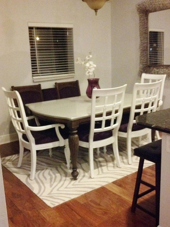 Custom made to order diningroom table and chairs for Dining room tables etsy
