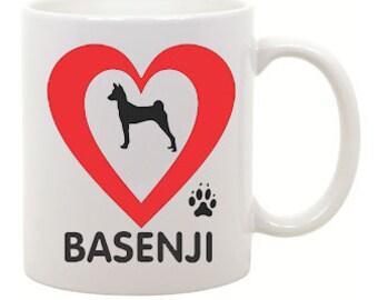 I love Basenji Coffee Mug 0027