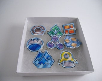 Pokemon Sinnoh League badges