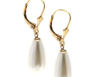 big pearl earrings- bridal jewelry- wedding earrings- classic pearl earrings- bridesmaid earrings- blush wedding jewelry