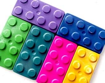 Chunky Brick Crayons - Set of 10