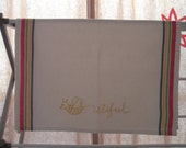 Embroidered Tea Towel - Beeutiful