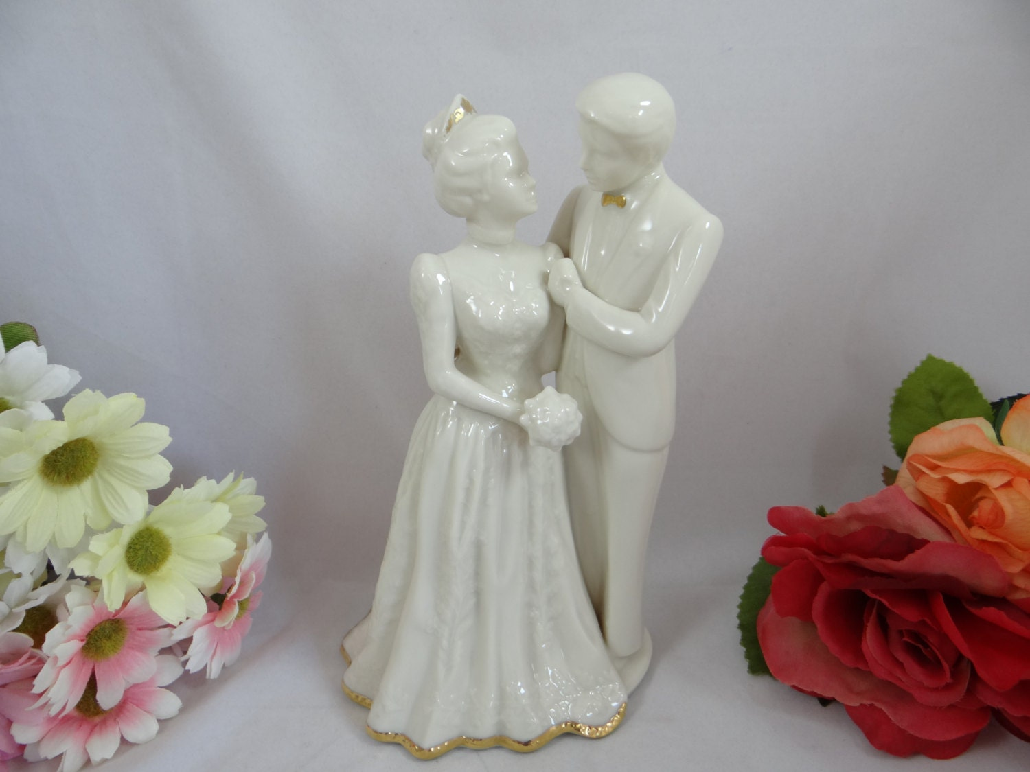 Lenox Wedding Gifts: Lenox Wedding Promises Bride And Groom Figurine Wedding Topper
