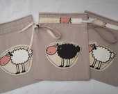 Drawstring Bag - Knitting Bag - Socks bag - PJ's case