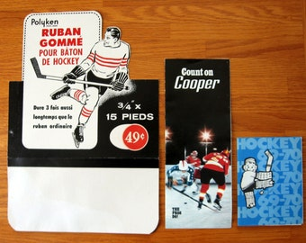 1970s Hockey Paper Ephemera