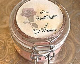 Rose Bath Salt -Flower Collection-