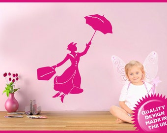 Mary Poppins vinyl wall decal sticker (large)