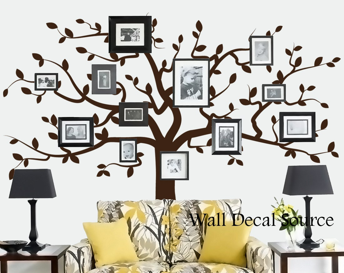 Metal wall decals