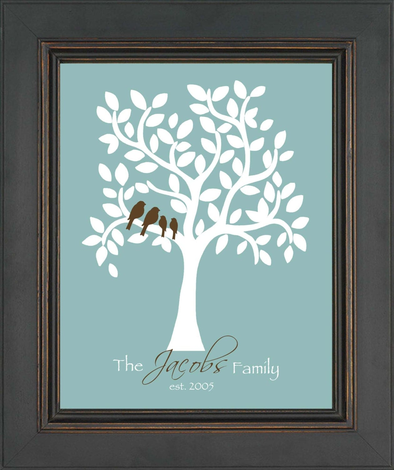 Family tree personalized gift personalized gift for family for Family tree gifts personalized
