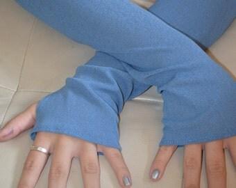 Feeling Blue Arm Warmers