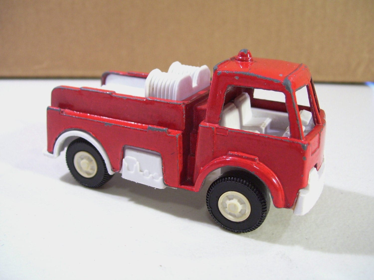 Tootsietoy Fire Truck Pumper Diecast Vintage And By