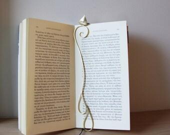 Sailboat bookmark, solid brass, matte finish, art object bookmark,small  sailboat sculpture