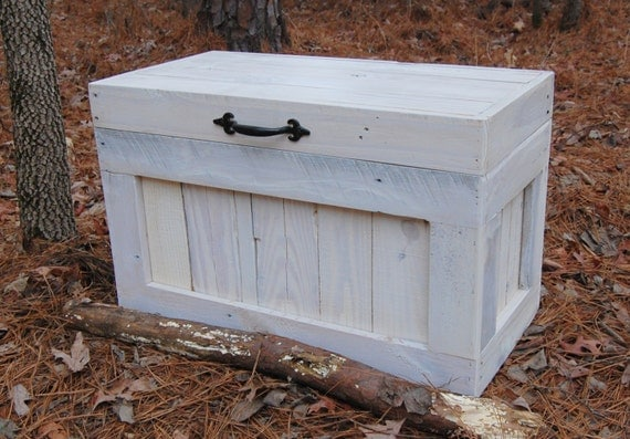 Hope Chest Coffee Table End Table Toy Box Reclaimed Wood