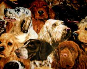 Medium Pillow Set - Many Dogs