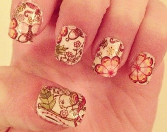 Summer Pink Nail Wraps