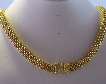 Vintage Gold Plated with Designer Magnetic Clasp