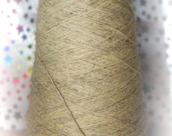 Sale Price Lot: 6 x 100 gm Cones of PURE SWALEDALE WOOL - British Sheep - for weaving and knitting