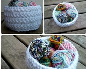 Chunky Bowl Crochet PATTERN
