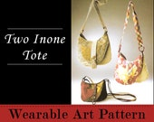 Two Inone Tote - features two separate but attached shoulder bags
