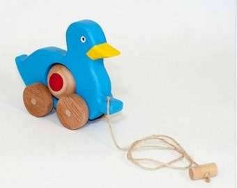 Wooden toys, kids toy, duck toy, toddler toy, toddler gift, wood toy, wooden animal, educational toy, kids animal toy, natural organic toys