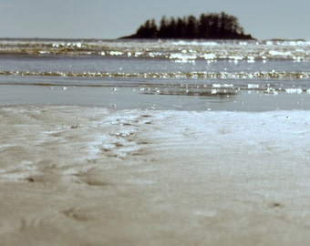 Chesterman Beach in Tofino - Vancouver Island, British Columbia // Nature Beach Photography // Home Office decor art print