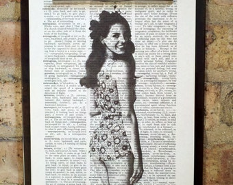 Lana Del Rey Dictionary Print