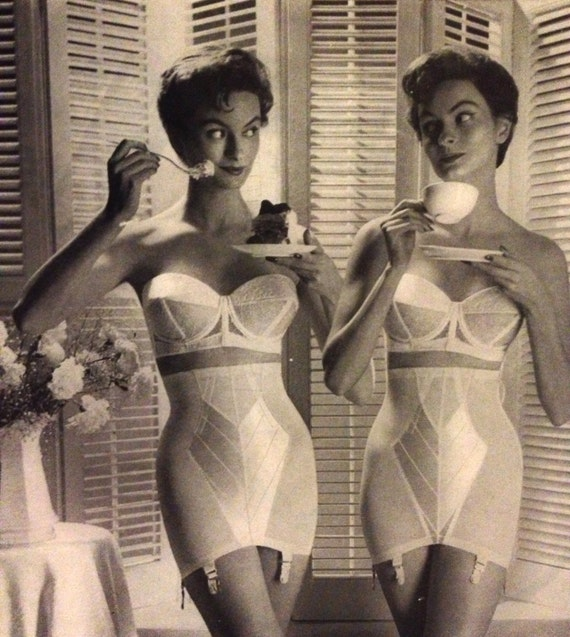 1950s Underwear Ad Warner's bras and girdles